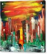 Flagstaff Acrylic Print