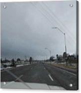 Flagstaff Traffic Acrylic Print