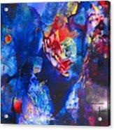 Flak'd Acrylic Print