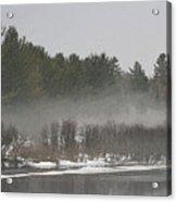 Flambeau Fog Acrylic Print
