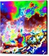 Flamboyant Cloudscape Acrylic Print