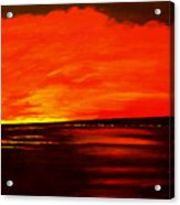 Flame Calm Acrylic Print