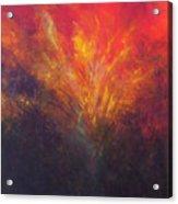 Flame Within Acrylic Print