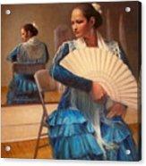 Flamenco 1 Acrylic Print