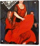 Flamenco 8 Acrylic Print