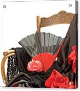 Flamenco Clothing  Acrylic Print