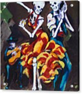 Flamenco Dancers II Acrylic Print