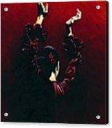 Flamenco Fire Acrylic Print