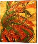 Flamenco Flame - Tile Acrylic Print