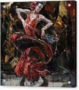 Flamenco II Acrylic Print