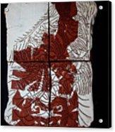 Flamenco Lady One  Acrylic Print