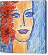 Flamenco Nights - Alicia Acrylic Print