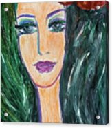 Flamenco Nights - Madalena Acrylic Print