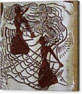 Flamenco Passion 1 Acrylic Print