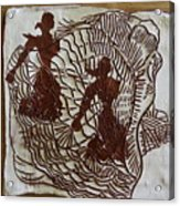 Flamenco Passion 5 Acrylic Print