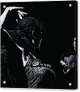 Flamenco Recital Acrylic Print