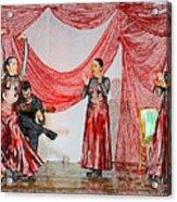 Flamenco Show Nr 4 Acrylic Print