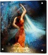 Flamencoscape 05 Acrylic Print