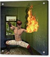 Flames Of Desire Acrylic Print