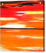 Flamescape Acrylic Print
