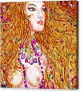 Flaming Desire Acrylic Print