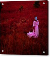 Flaming Pink Acrylic Print