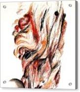 Flamme En Bois Acrylic Print