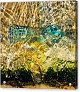 Flash Of Emerald Acrylic Print