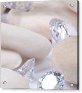 Flashing Diamond Acrylic Print