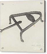 Flat Iron Holder Acrylic Print