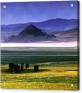 Flat Lands Of Kunming Acrylic Print