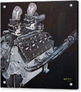 Flathead Offenhauser V8 Acrylic Print