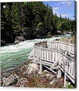 Flathead River Rapids Acrylic Print