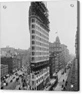 Flatiron Building During Construction Acrylic Print