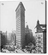 Flatiron Building - Vintage New York - 1902 Acrylic Print
