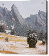 Flatiron Meadows - Boulder Colorado Acrylic Print
