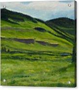 Flattops Wilderness Acrylic Print