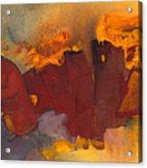 Fleeing The Inferno Acrylic Print