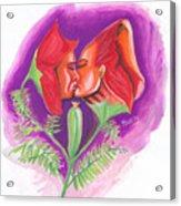 Fleur D'amour Acrylic Print