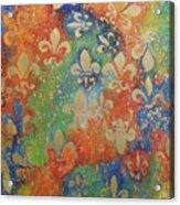 Fleur De Arcencial Acrylic Print by Made by Marley