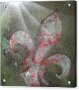 Fleur Di Lis Acrylic Print