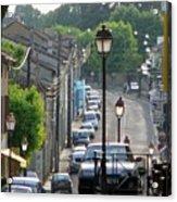 Fleurance City Acrylic Print
