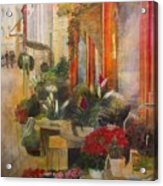 Fleuriste Acrylic Print