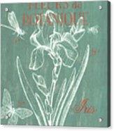 Fleurs De Botanique Acrylic Print