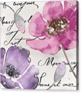 Fleurs De France IIi Acrylic Print