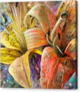Fleurs De Lys 01 Acrylic Print