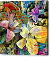 Fleurs De Lys 02 Acrylic Print