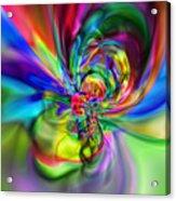 Flexibility 17caa Acrylic Print