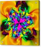 Flexibility 42d Acrylic Print