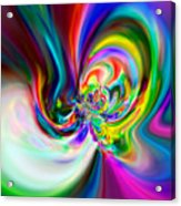 Flexibility 51ba Acrylic Print